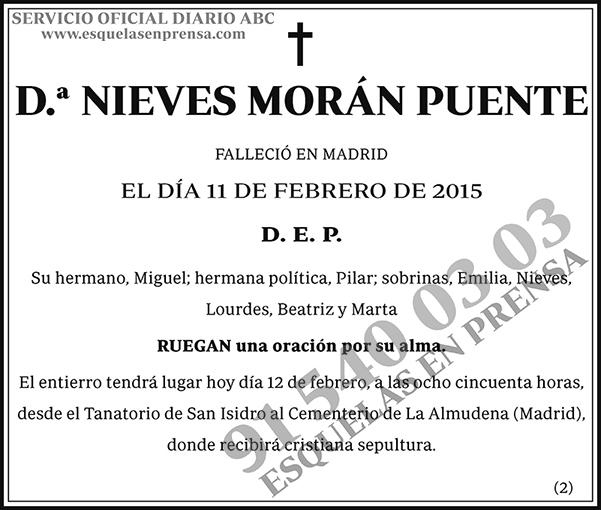 Nieves Morán Puente